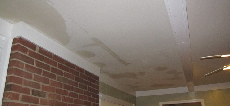 Ceiling Leakage Leak Water